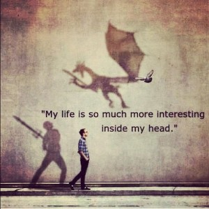 Living inside my head