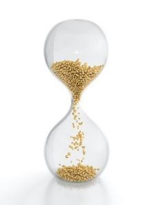 gold egg timer